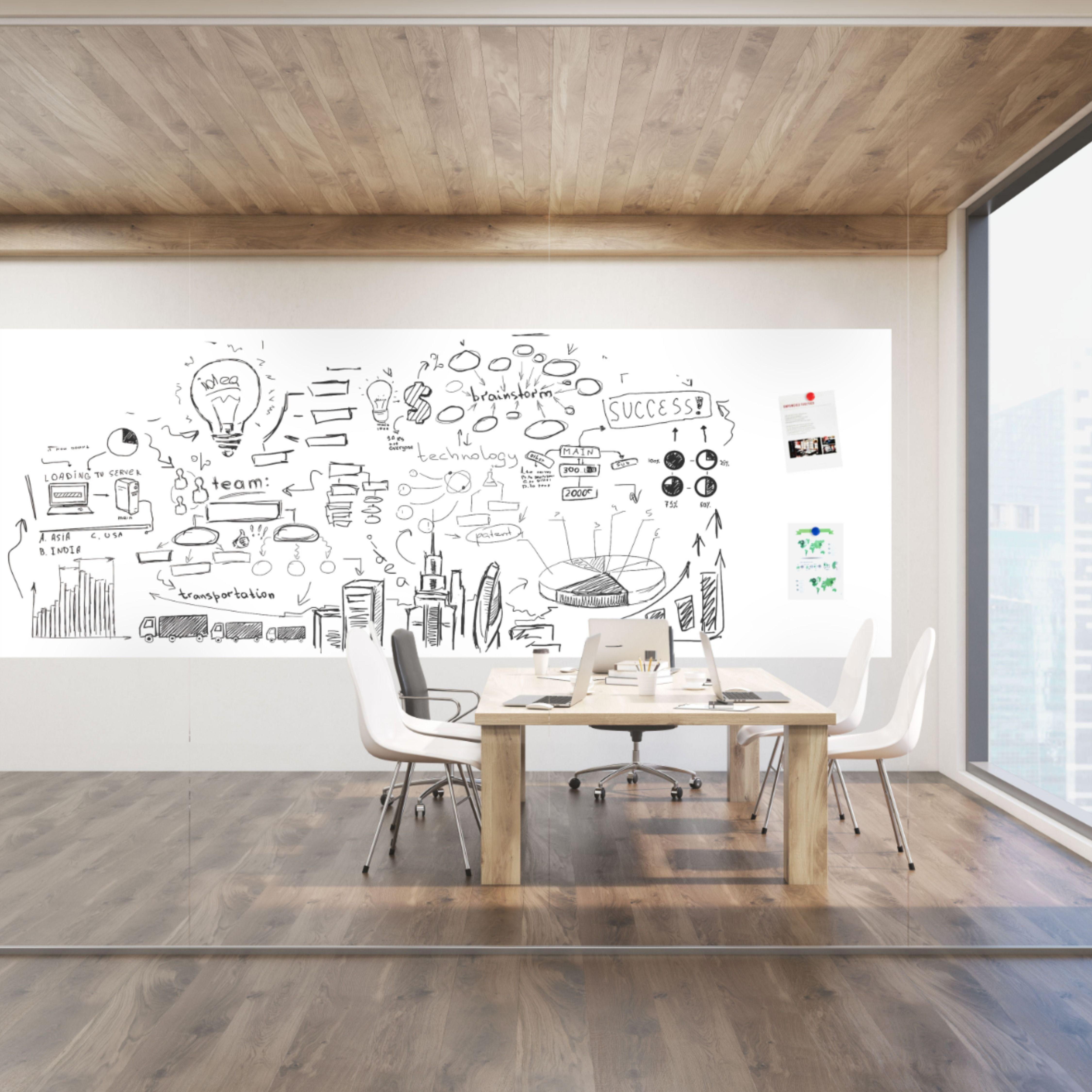 Opti Rite Basic Dry Erase Wallpaper 48 Non Magnetic Dry Erase Wall Wall Coverings Vinyl Wall Covering