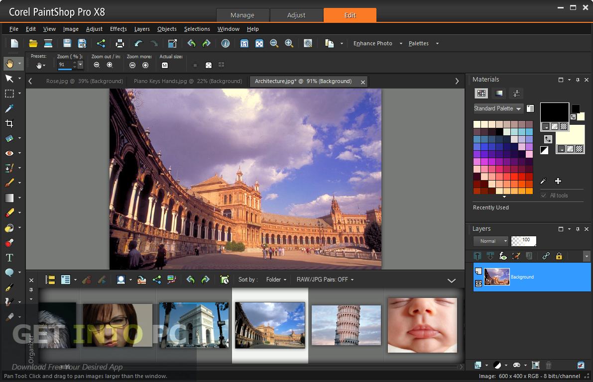 Corel paintshop pro x8 ui graphic editors pinterest photography corel paintshop pro x8 baditri Image collections