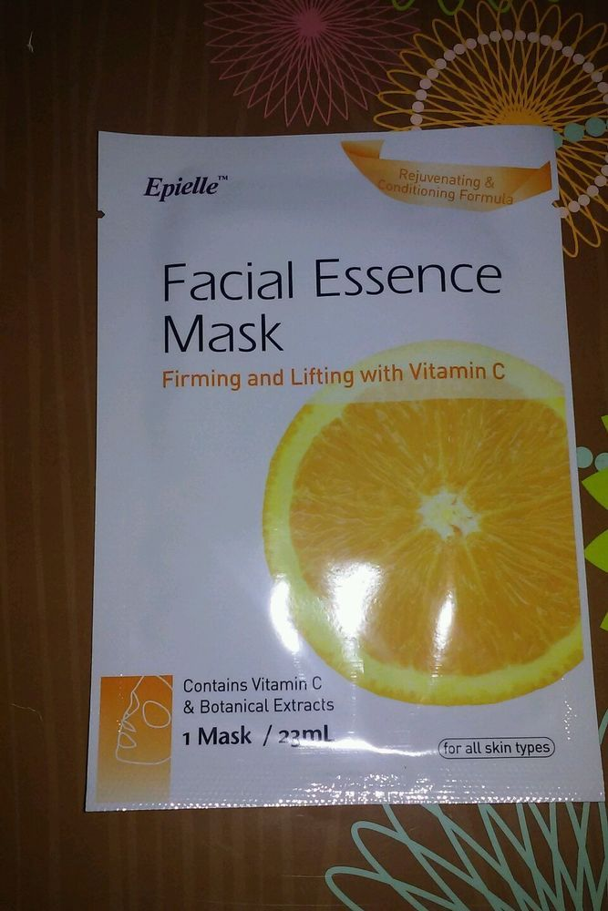 Epielle Firming and Lifting Facial Mask #Epielle