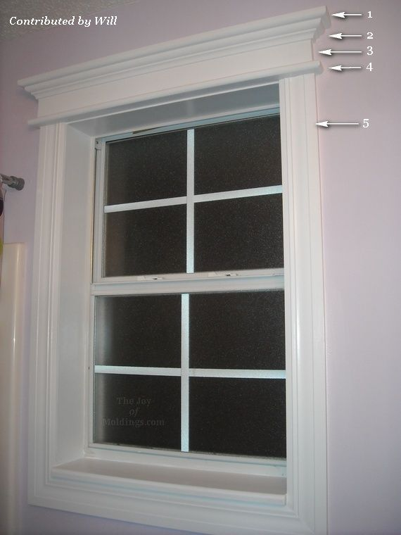 Great Site For Diy Trim Amp Molding Bathroom Window For My