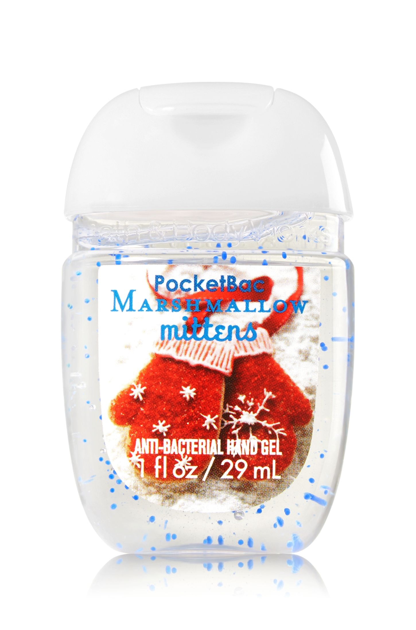 Toasted Marshmallow Hand Sanitizer Gel 1oz Travel Size Scented