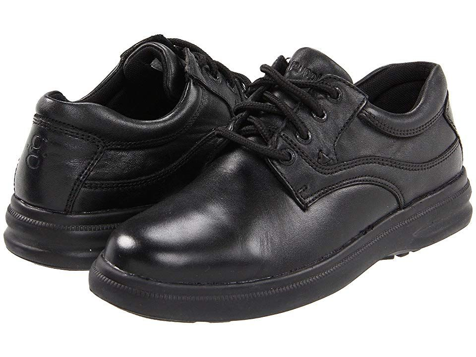 Hush Puppies Glen Black Leather Men S Lace Up Casual Shoes Stylish Lace Up Casual Comfort Shoe Exclusi With Images Shoes Black Leather Oxford Shoes Black Casual Shoes