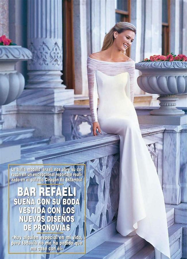 בר רפאלי מתכוננת לחתונה Beautiful Bridal Dresses Wedding Gown Accessories Dresses