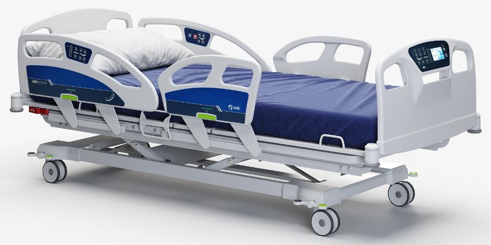 Hospital Bed 3d Model Turbosquid 1543730 Hospital Bed Bed Hospital