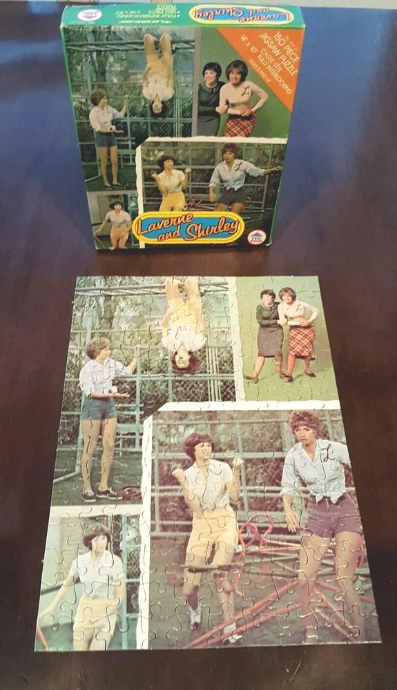 #vintage Laverne And Shirley 150 Piece Jigsaw Puzzle 70s Tv Show Toy Hg Toys from $14.99