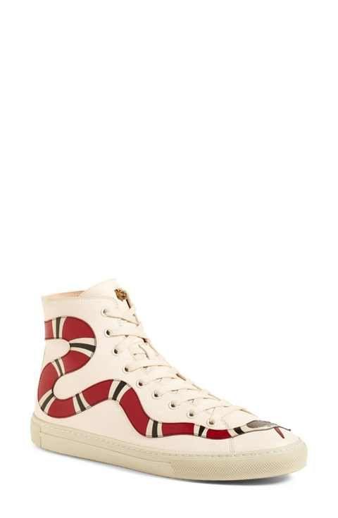 d2c2f319731 Gucci Major Snake High Top Sneaker (Women)
