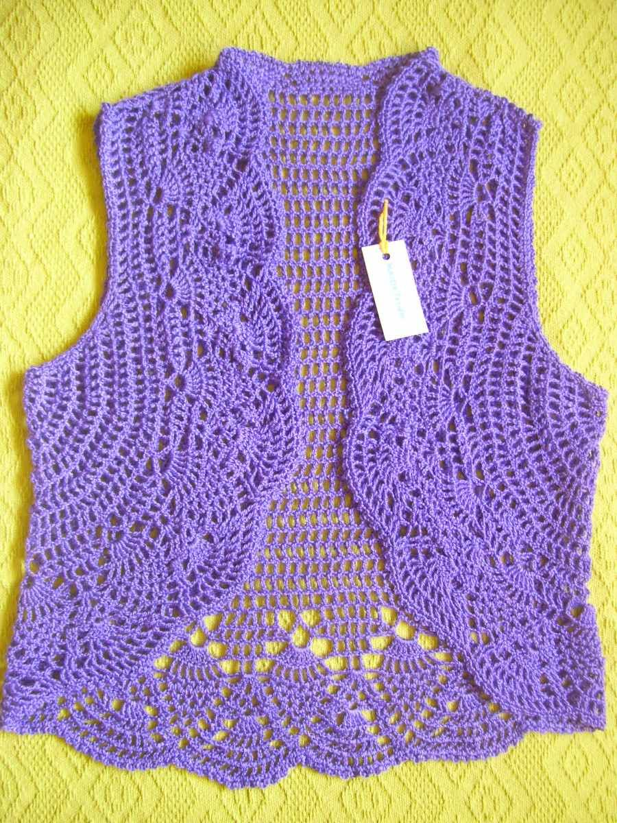 Tejidos Artesanales A Crochet: Chalecos - Boleros - $ 425,00 en ...