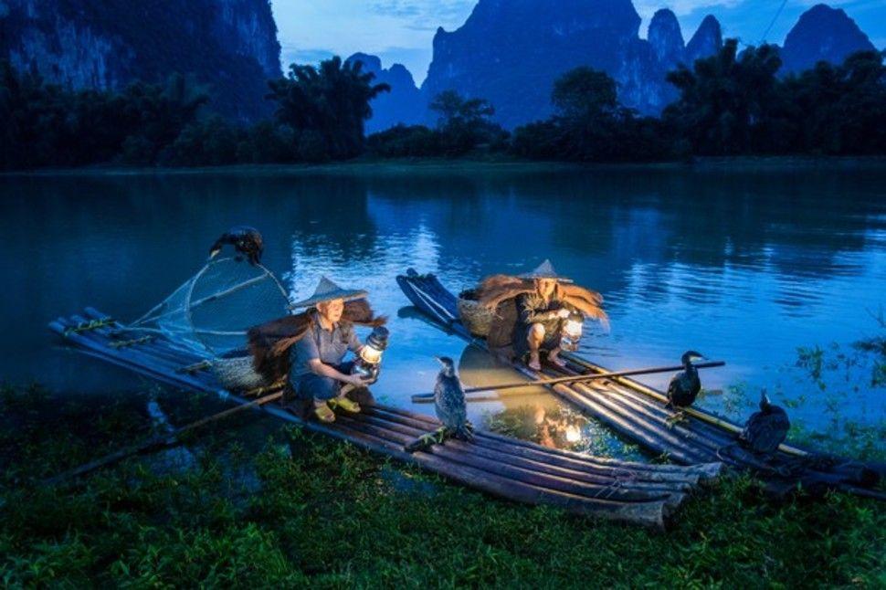 """""""Pesca de la noche"""" – Kwok Tai – China."""