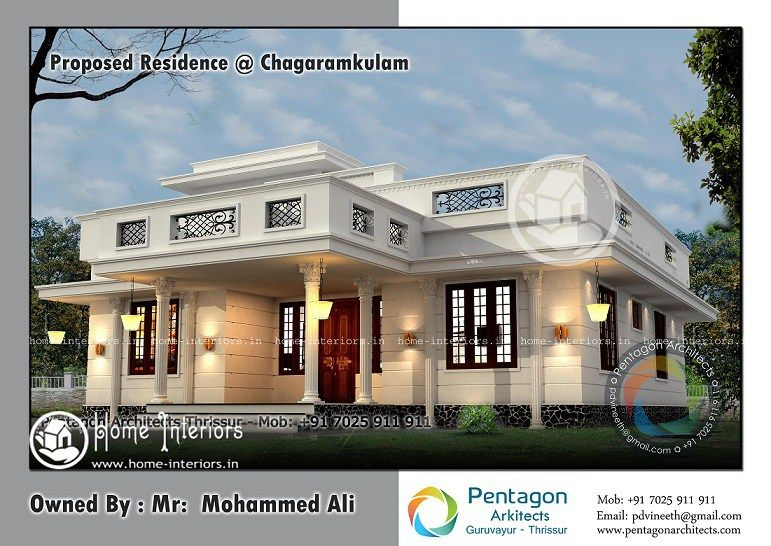 Home Designs Single Floor Home Plan Square Feet Kerala Home Design Sq Ft  Modern Contemporary Home