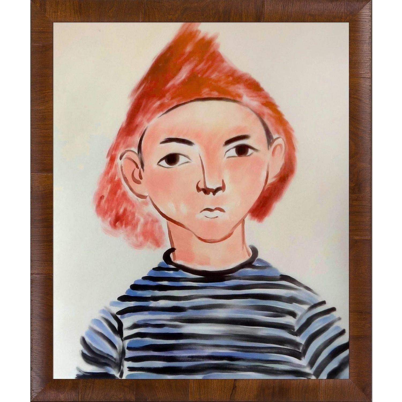 La Pastiche Henri Matisse \'Portrait of Pierre Matisse\' Hand Painted ...