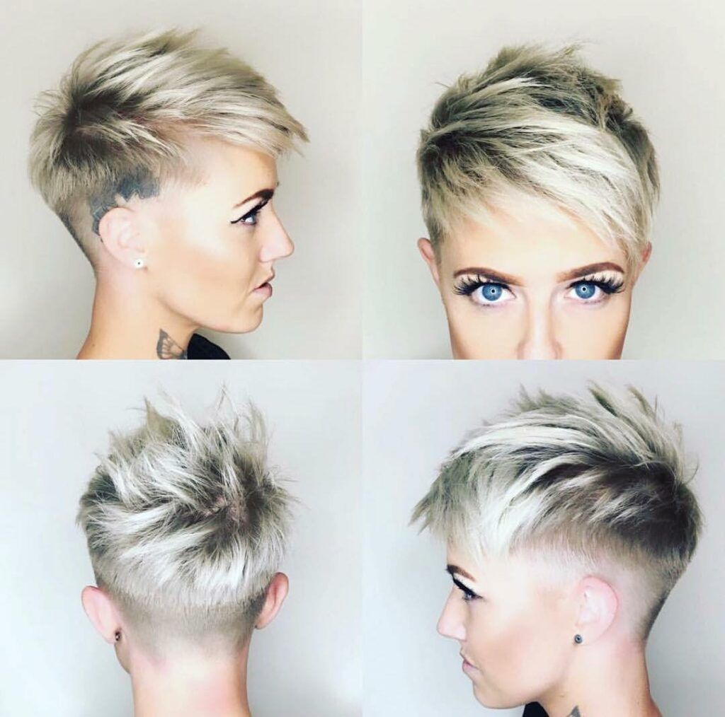 25 Trendiest Shaved Hairstyles For Women Haircuts Hairstyles 2021 In 2020 Short Shaved Hairstyles Short Hair Styles Pixie Edgy Pixie Haircuts