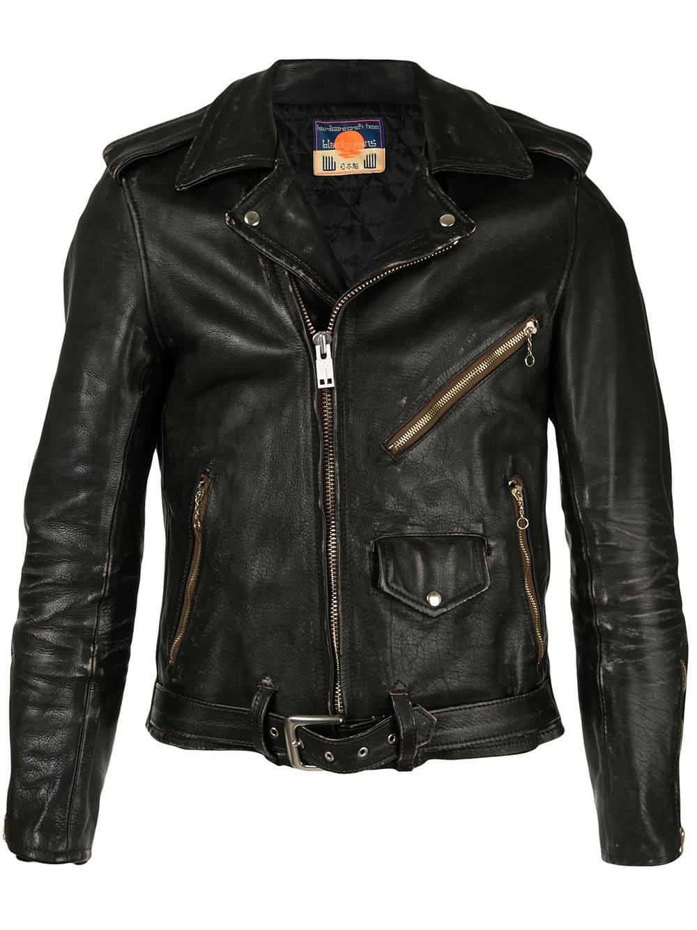 Black Means Distressed Biker Jacket In Black Modesens Leather Jacket Men Style Leather Jacket Men Biker Jacket [ 1334 x 1000 Pixel ]