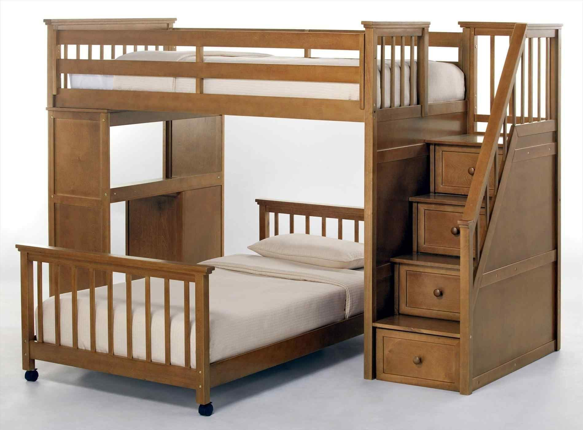 Double Bunk Bed With Desk Underneath Desk Decorating Ideas On A Budget Check More At Http Www Gameintown Com Modern Bunk Beds Bunk Beds Full Size Bunk Beds