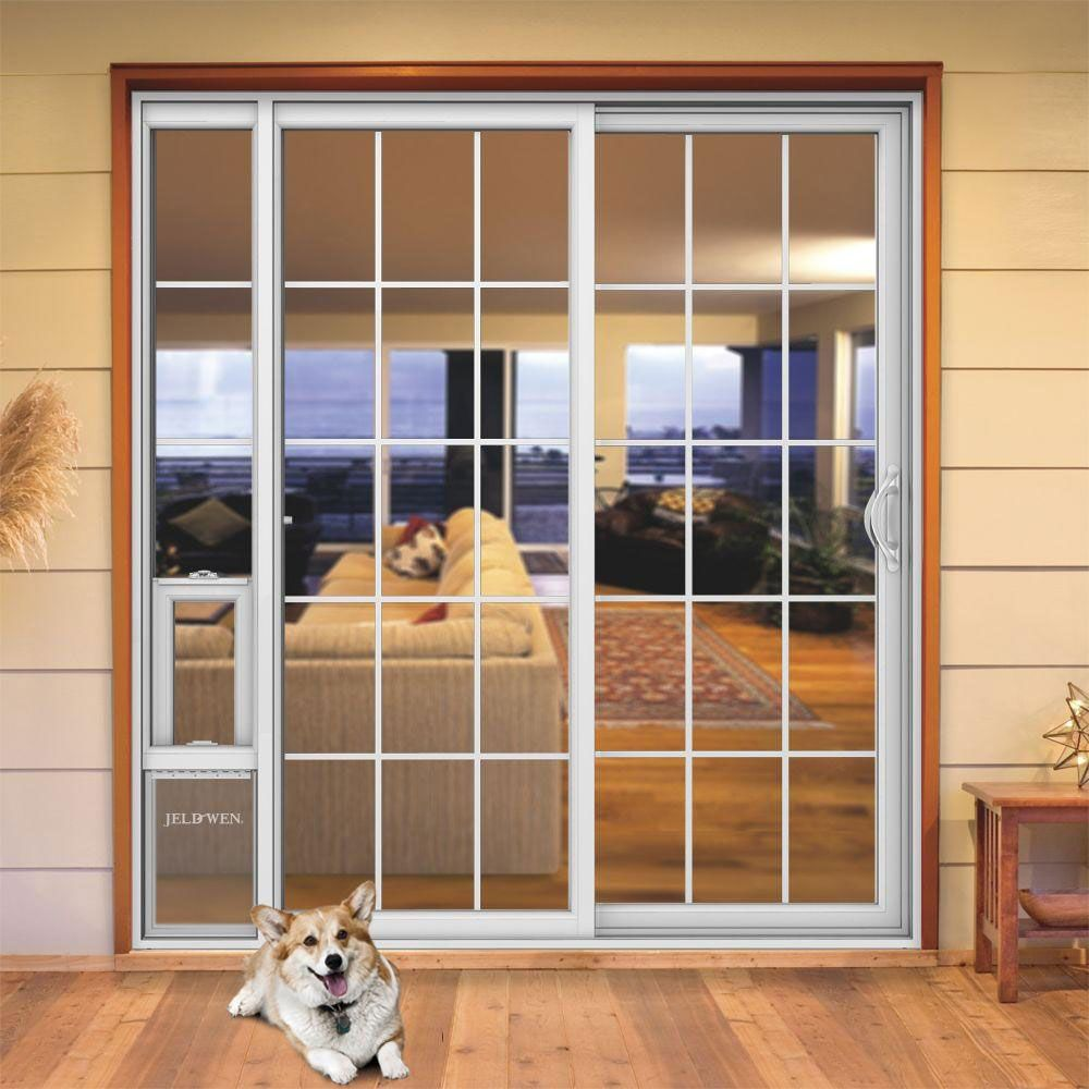 Beautiful Sliding Glass Dog Door