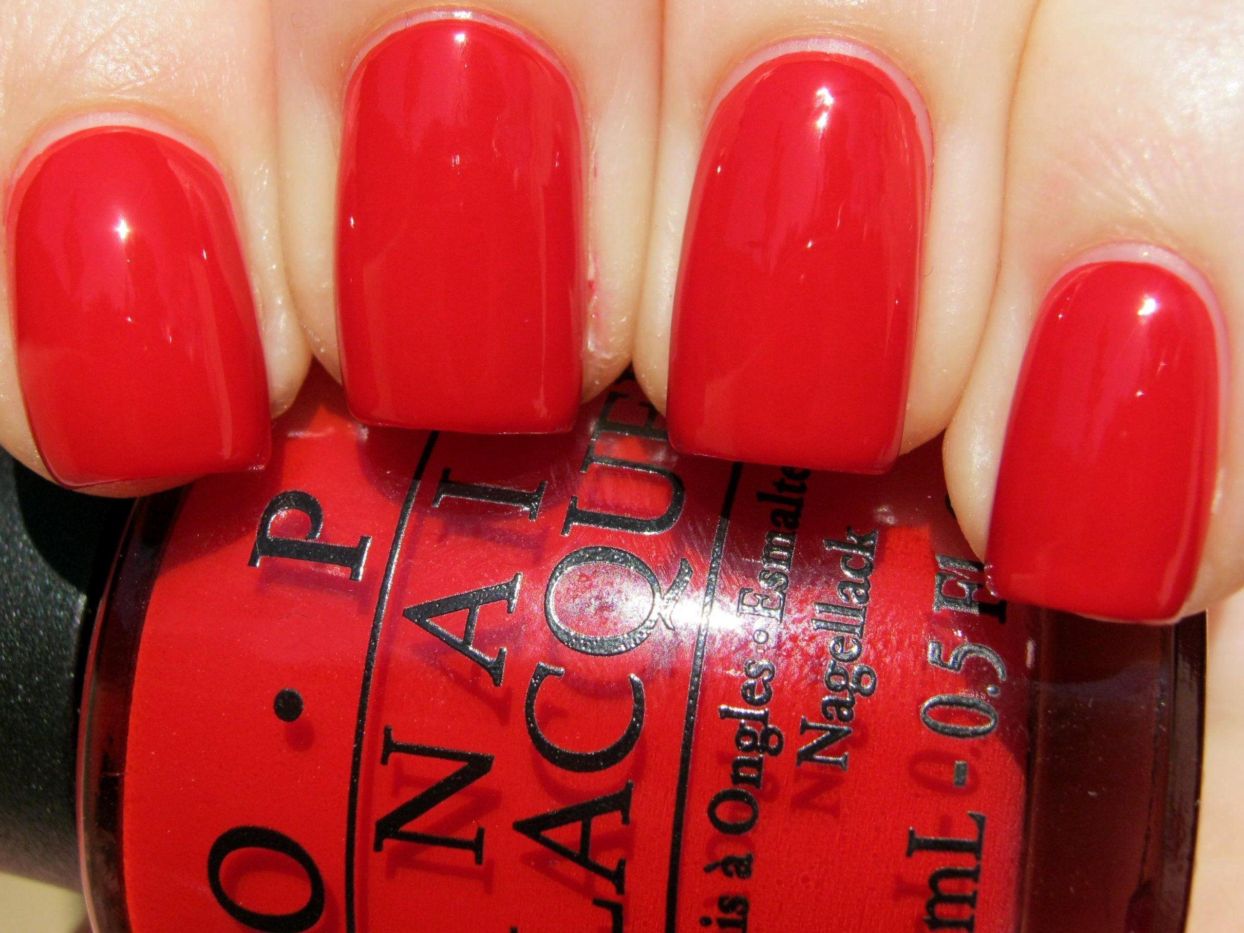 Image result for opi big red apple nail polish | nails sprig ...