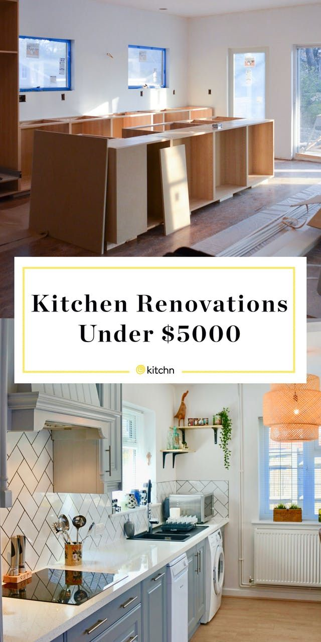5 Gorgeous Kitchen Renovations That Cost Less than $5,000 images
