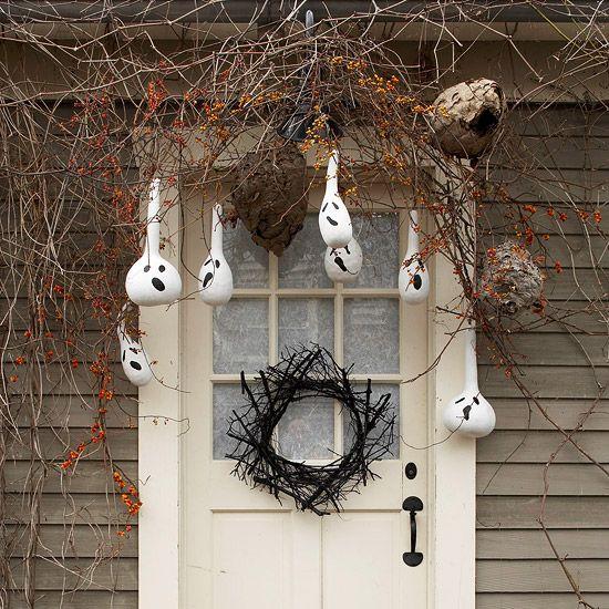 Eerie Outdoor Halloween Decorations Gourds, Holidays and Outdoor - outdoor halloween decorations