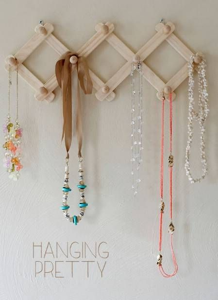 25 Brilliant DIY Jewelry Organizing and Storage Projects Jewellery