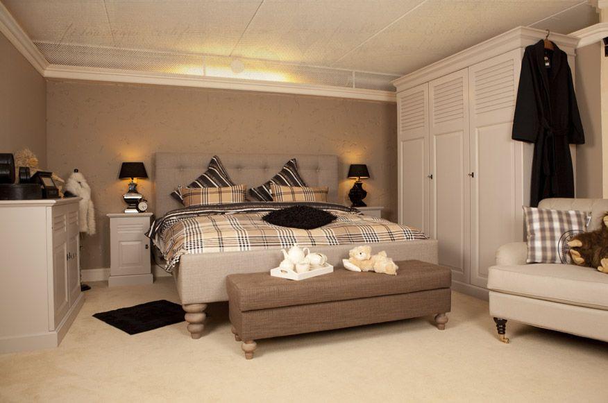 slaapkamer landelijke stijl bruin bed - Google zoeken | Landelijk ...