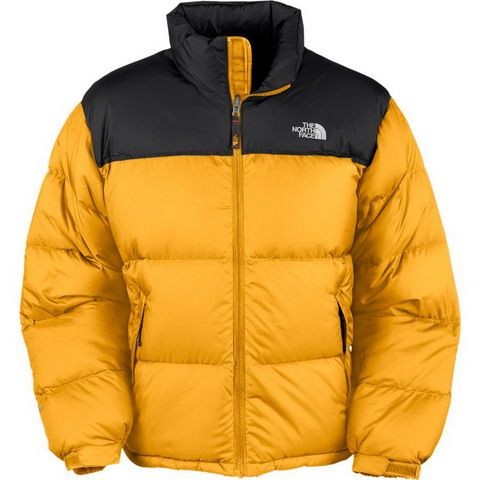 14b252fda North Face Down Jacket Clearance Men Black Yellow Discount | The ...