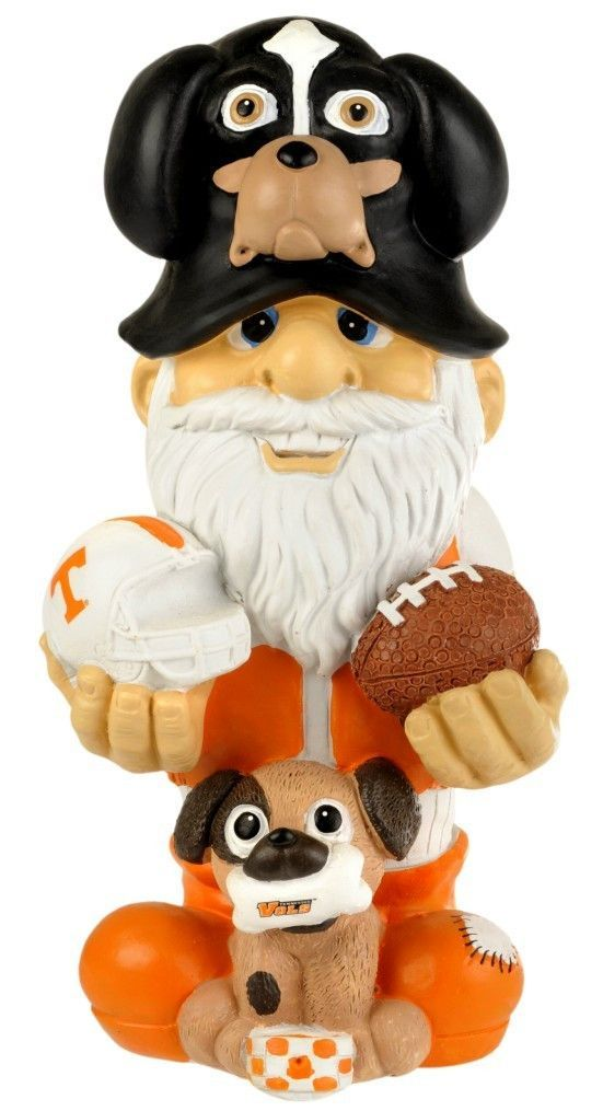 "Tennessee Volunteers Garden Gnome 11"" Thematic - Second String"