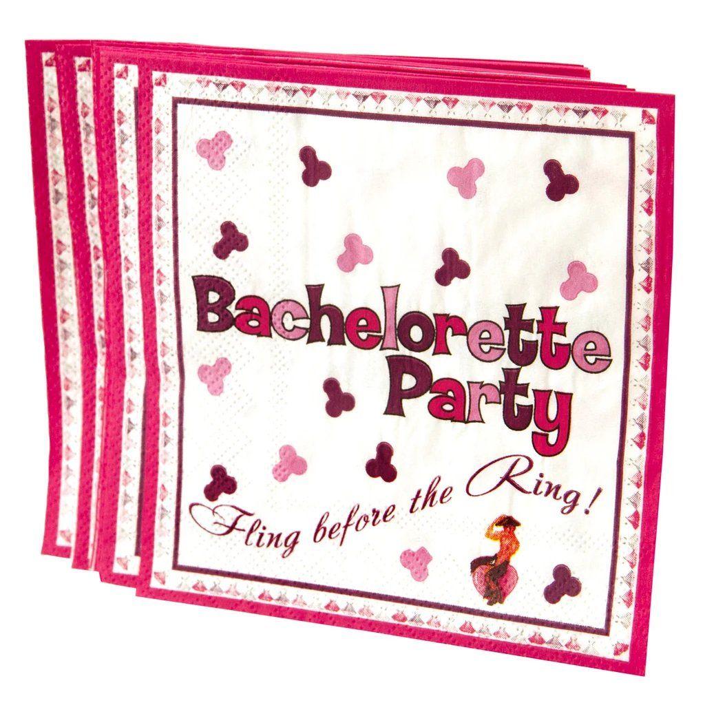 Bachelorette Pool Party Penis Paper Napkins – Elegant Wedding Ideas