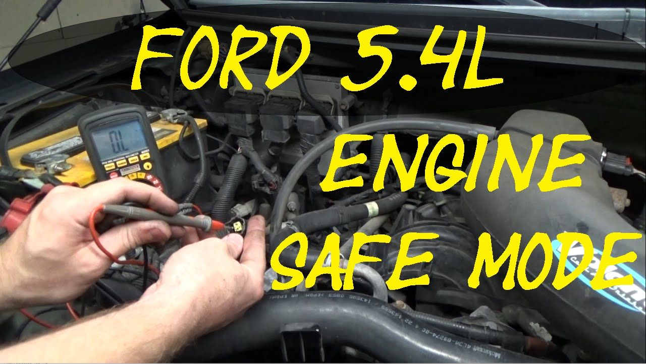 Ford 5 4l Failsafe Mode Multiple Codes Real Time Troubleshooting Ford Car Maintenance Ford Explorer