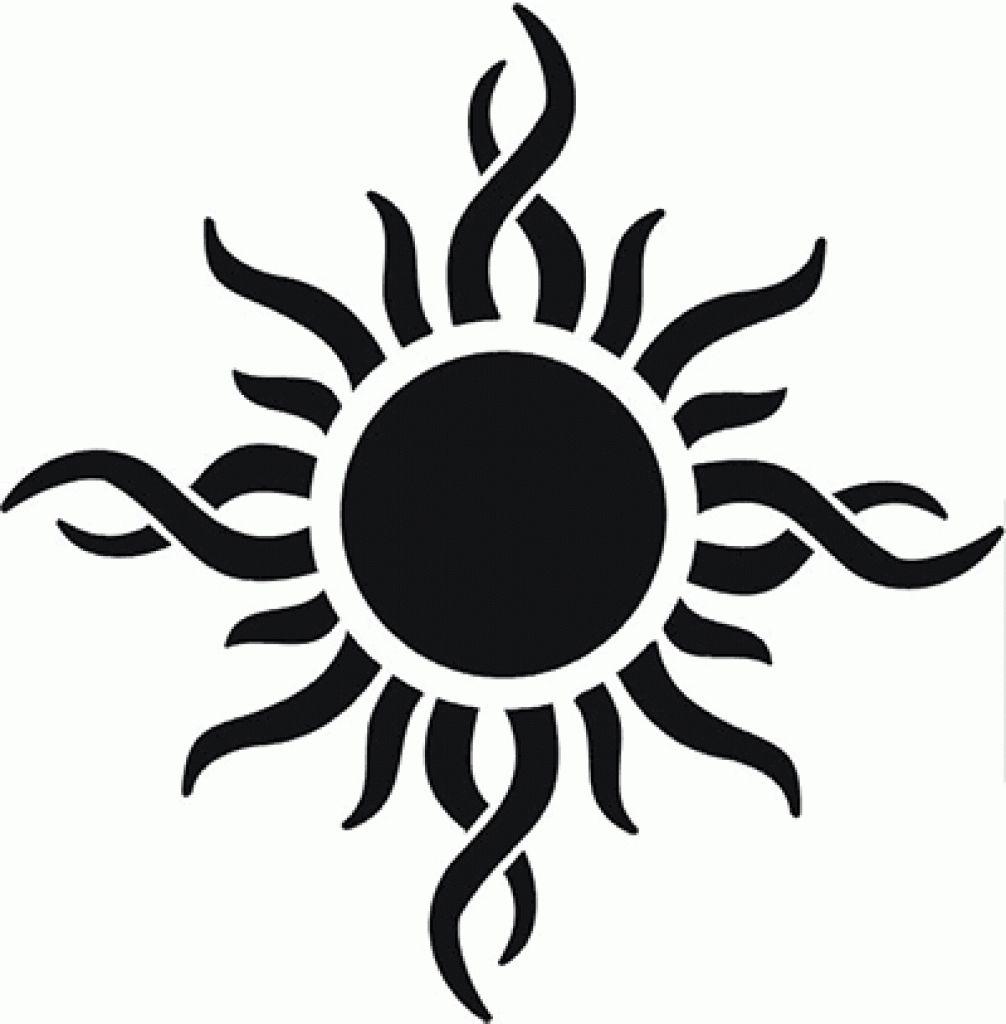 Sun Tattoos Tribal Sun Tattoo Designs with Sun Tattoo
