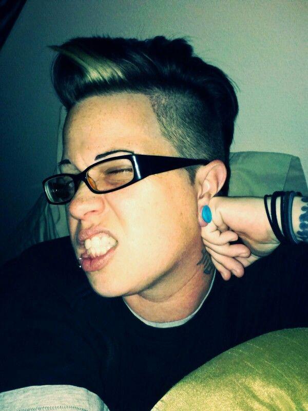 Punk lesbian mohawk