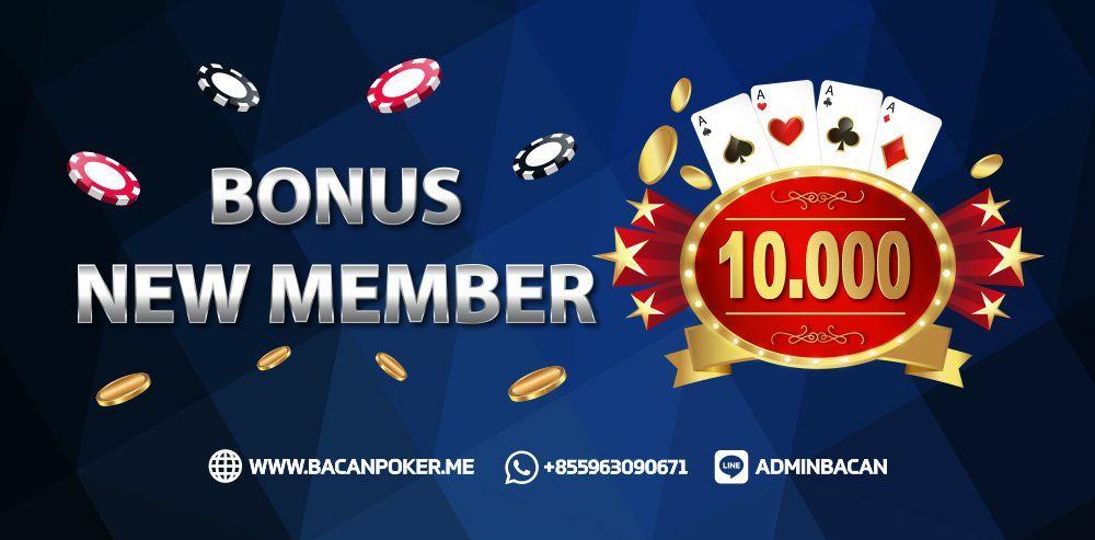 Bonus New Member Bacan Poker Poker Hoki Game
