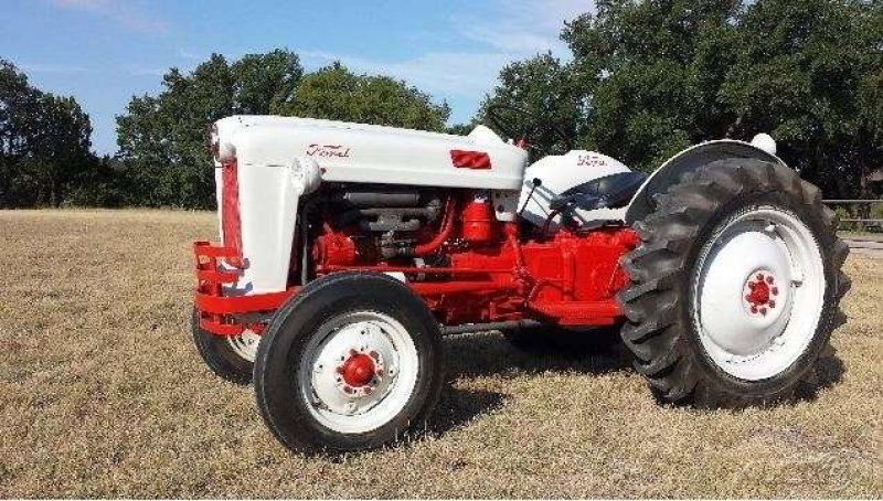 1954 Ford Golden Jubilee Naa 84343 Tractor 32hp Gas Engine 4 Speed