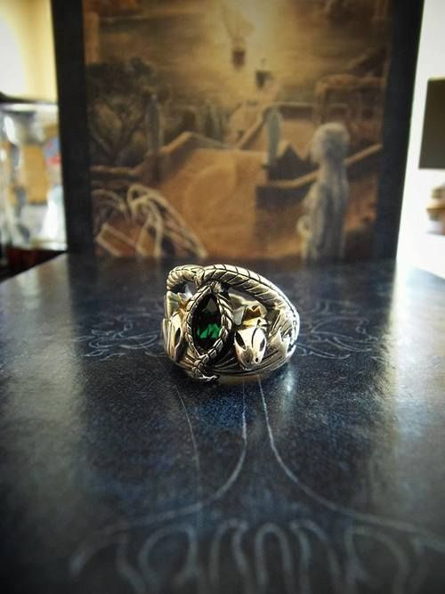 Slytherin Ring Birthday Christmas Present Mom Love Things
