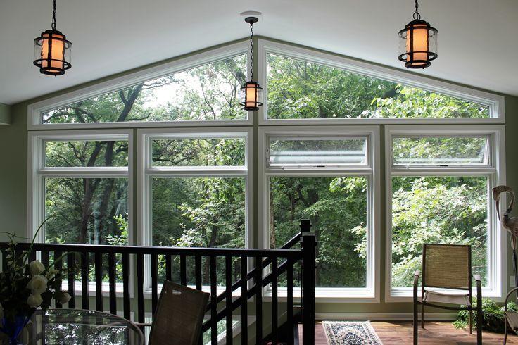 Trapezoid Windows | Sunrooms by Red Oak | Pinterest | Window