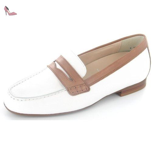 Semler DENISE D5078223104 femmes Mocassins, blanc 32.5 EU petites taille - Chaussures semler (*Partner-Link)