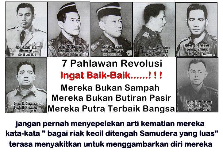 G30spki Pahlawan Revolusi Kata Kata Indah Revolusi Pemberontak