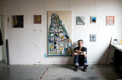 Karl Bielik Artist WorkspaceAbstract PaintersWorkspace