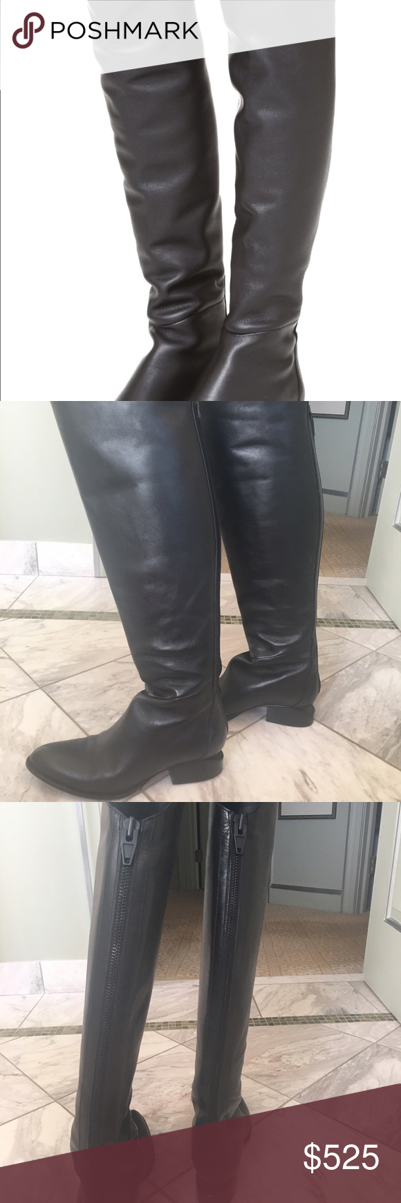 Above The Knee Alexander Wang Sigrid Boots Stunning Boots in Great Condition! Zippered back. I have the dust bag and box...but may be too big to ship in the box! Alexander Wang Shoes Over the Knee Boots