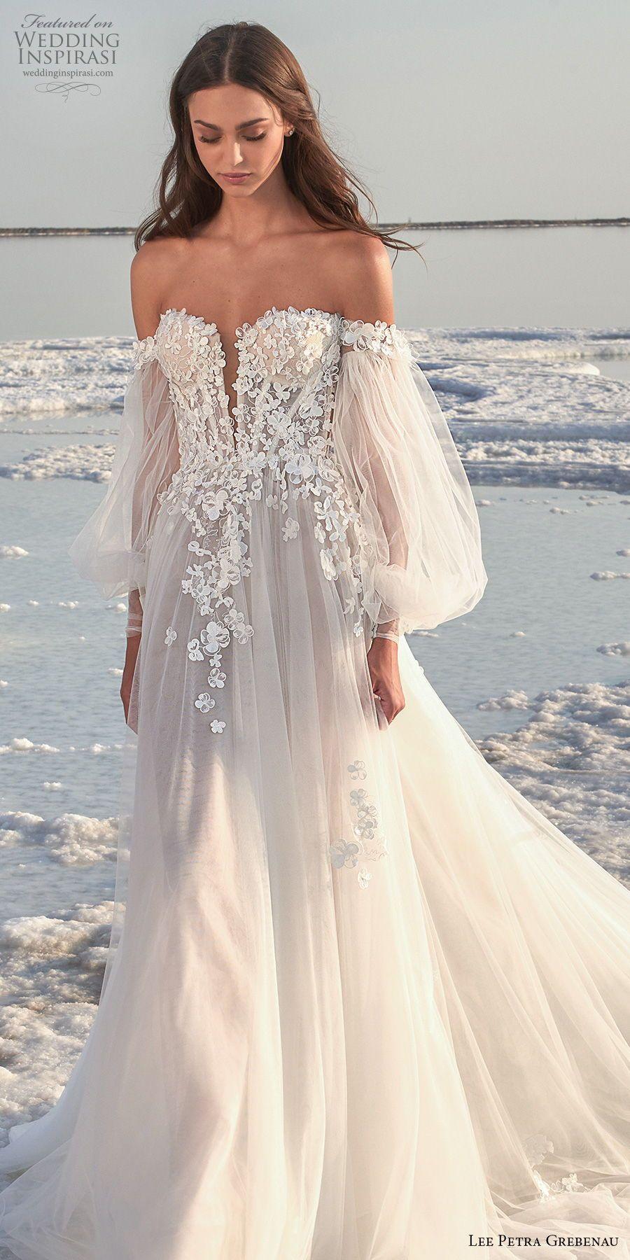 "Lee Petra Grebenau 2020 Wedding Dresses — ""Fields"