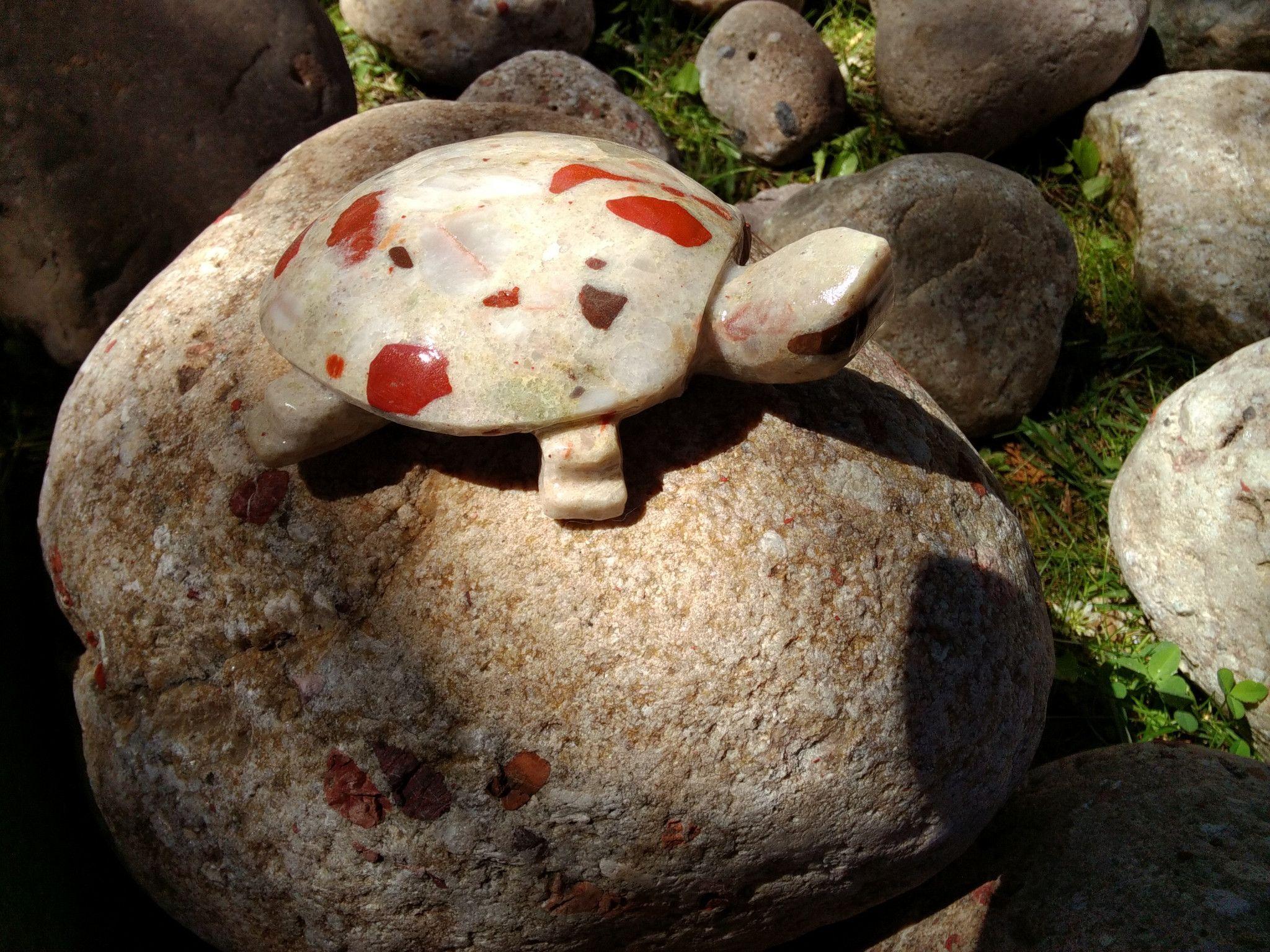 Pudding Stone Turtle (medium small)
