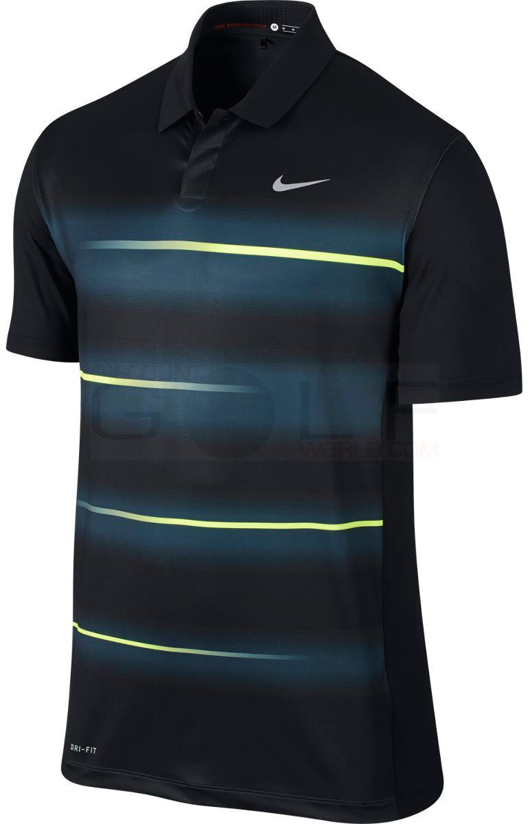0434fc4e Nike TW Vapor Trail Polo 639821 Tiger Woods Collection, Dri-Fit Technology,  Stretch Polos Shirts Mens Golf Apparel - $49