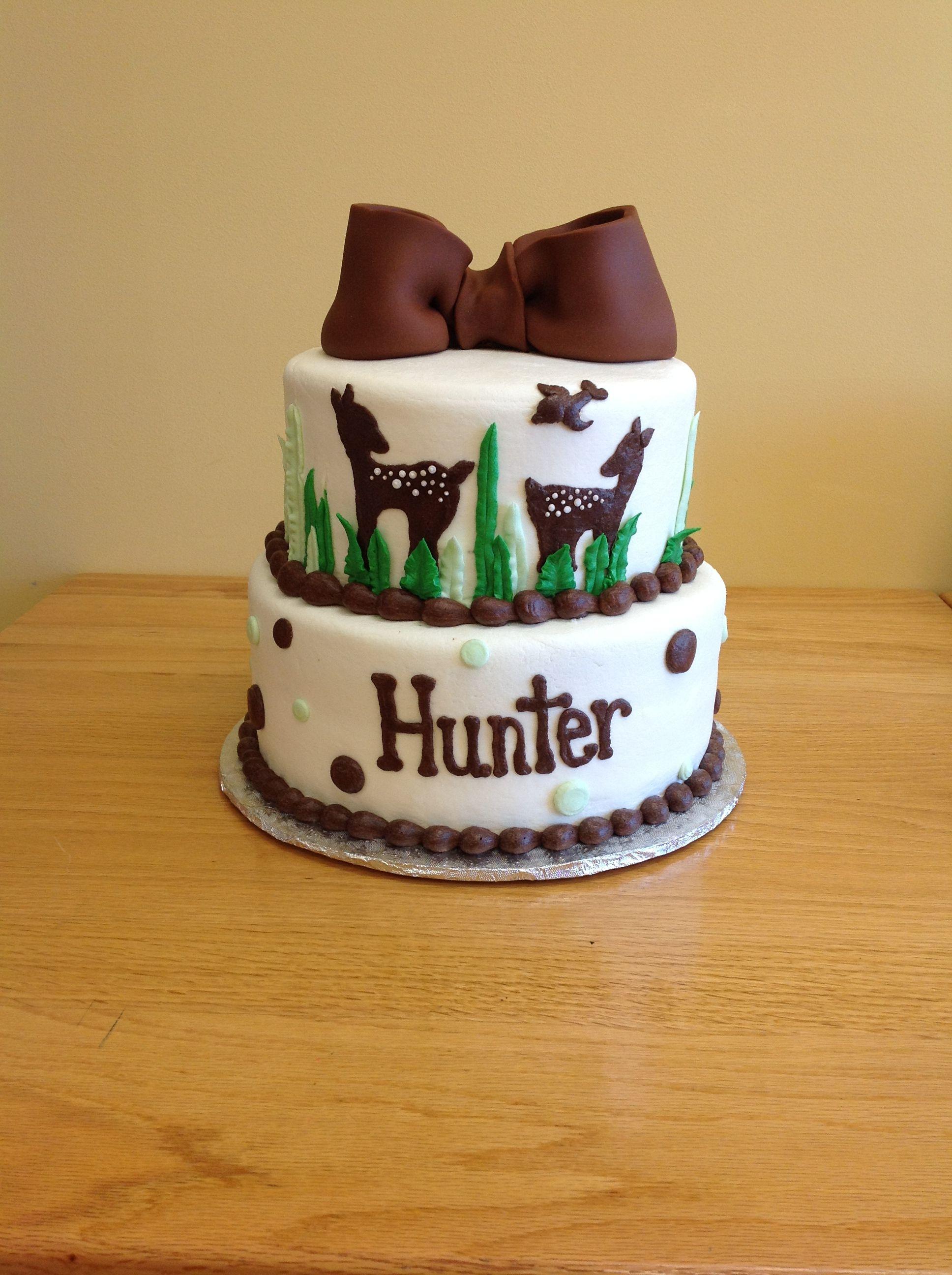 Deer Cake From Saras Sweets Bakery Grand Rapids Mi Custom