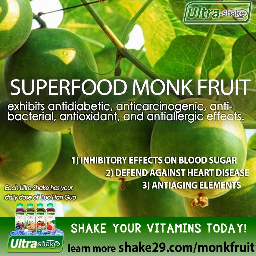 SUPERFOOD: Organic Monk Fruit is also known as longevity fruit!