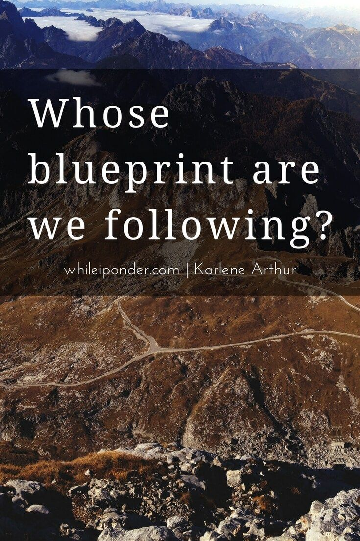 Whose blueprint are YOU following? Satan has a plan and we are his target.