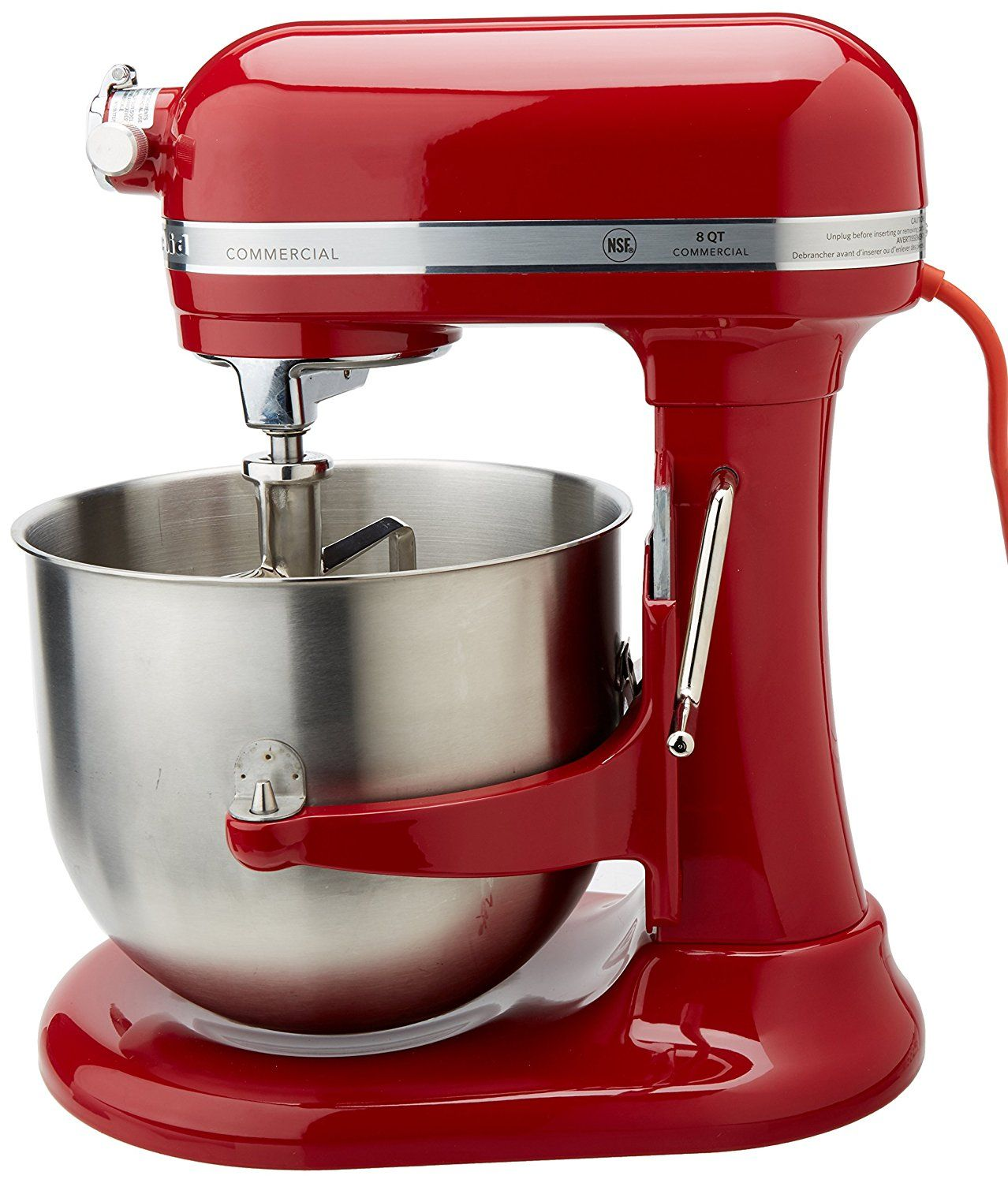 Check Out This Gorgeious Empire Red Commercial Mixer From KitchenAid. The  Bowl Holds 8