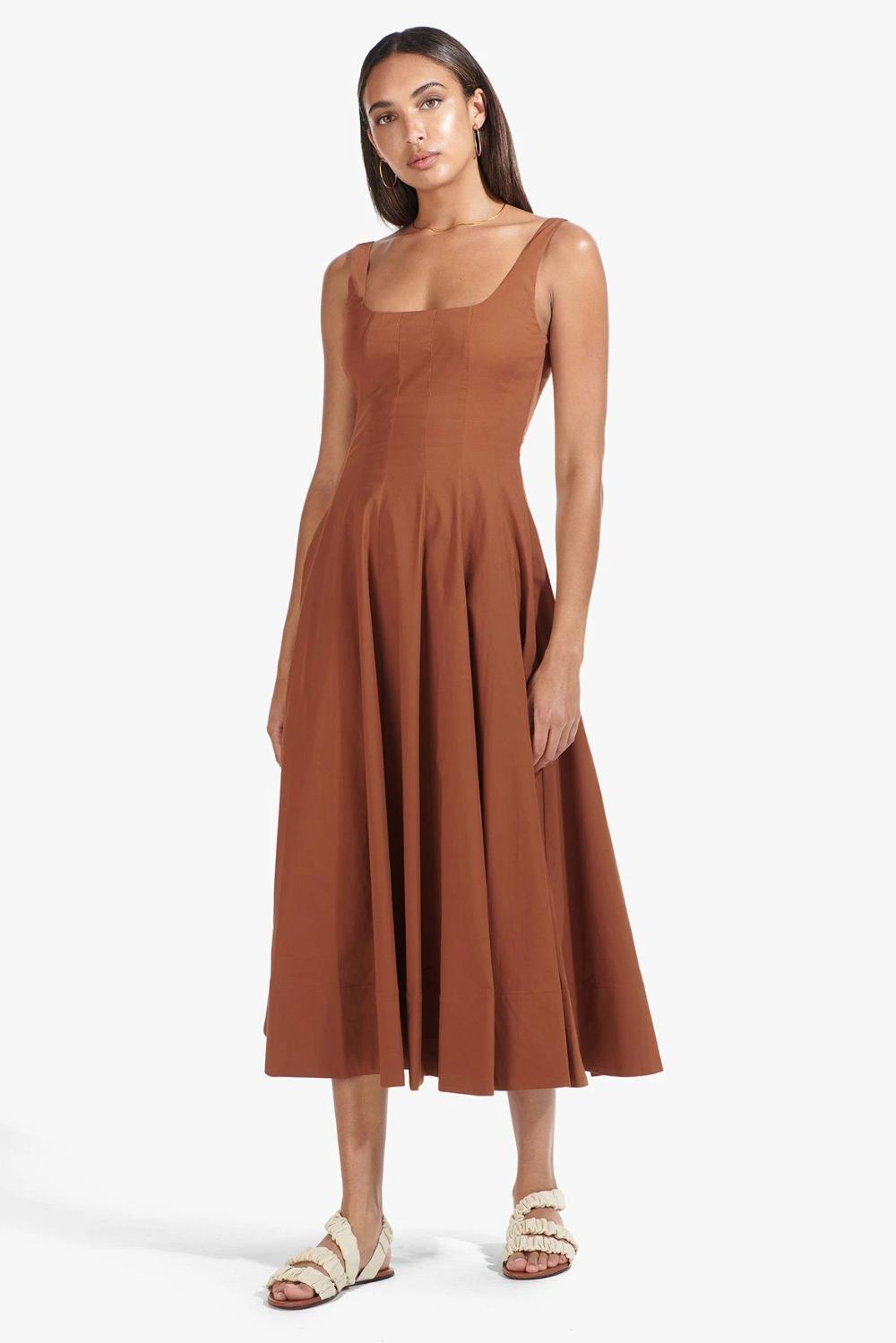 Wells Dress Tan Dresses Select Dress Colorful Dresses [ 1499 x 1000 Pixel ]