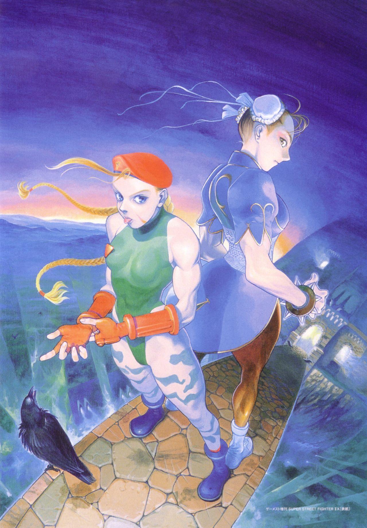 Cammy Chun Li Super Street Fighter Ii Artbooks Street