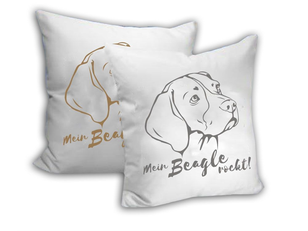 Kissenbezug Beagle Beagle Kollektion Beagle Throw Pillows Und