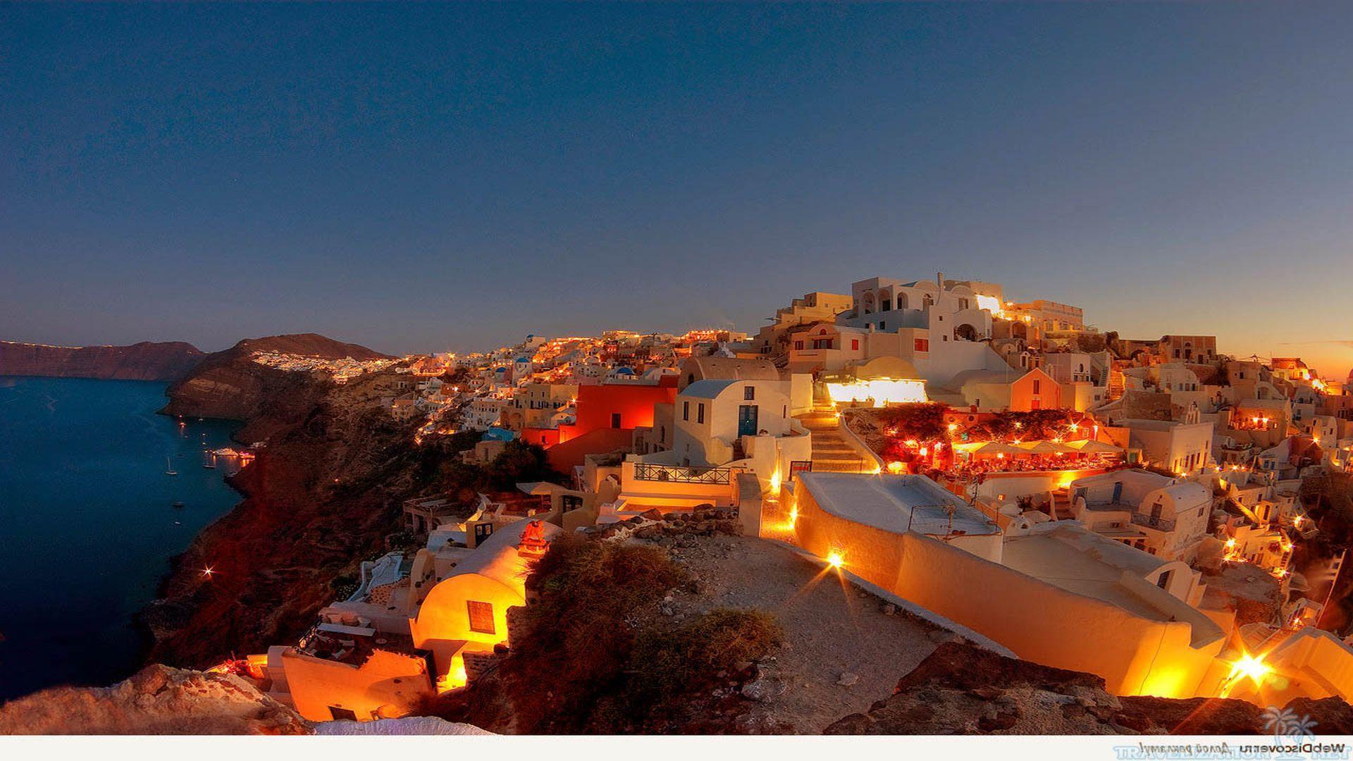 Truly beautiful santorini greece wallpapers - Santorini wallpaper ...