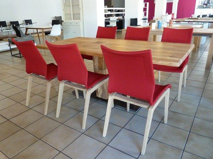 ZWEIGL Esszimmer Gruppe Z30 Tisch Eiche 95x200 \ 6 x Stuhl ZS90 - esszimmer in rot 15 ideen tipps
