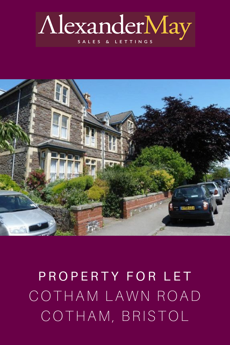 Property to let Cotham Lawn Road Cotham, Bristol Monthly